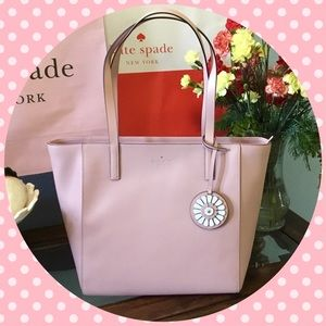 Kate Spade Rosa Medium Tote. Rossy Cheek.